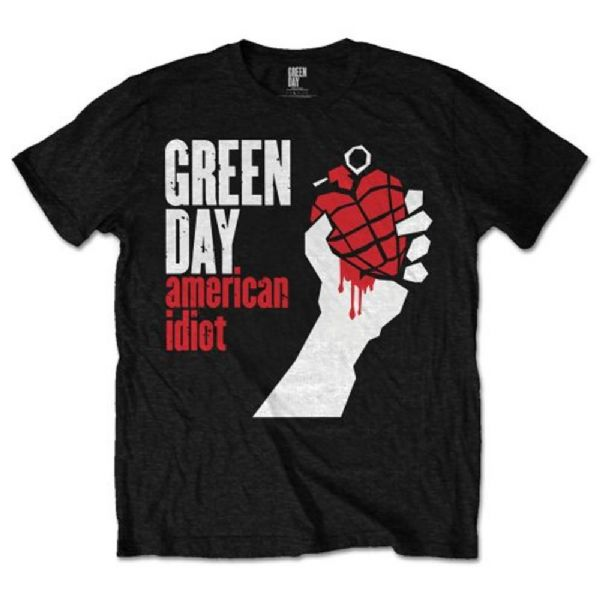 GREEN DAY American Idiot Black Unisex T-Shirt